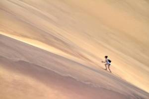 wandelen zandduinen